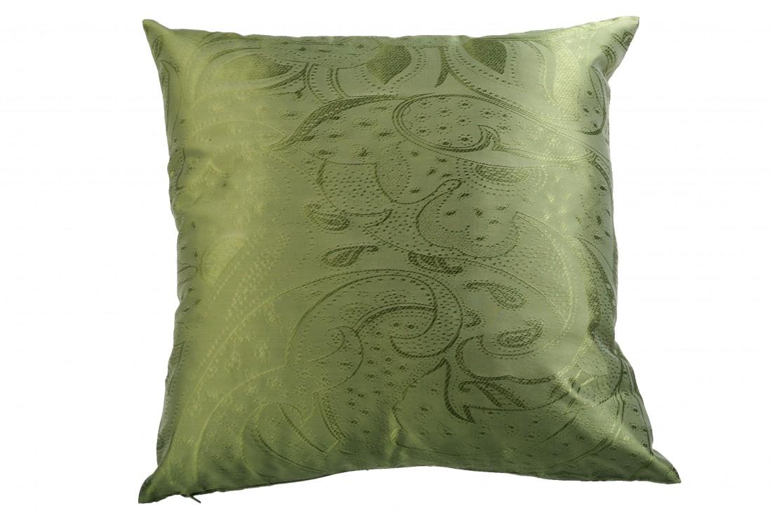 kissenh lle kissenbezug 4stk gewebt farbe lindgr n. Black Bedroom Furniture Sets. Home Design Ideas