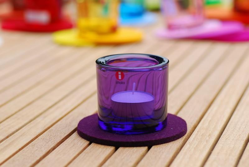 daff filz filzscheibe 10 cm rund untersetzer aus filz aubergine. Black Bedroom Furniture Sets. Home Design Ideas