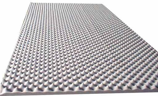 akustikschaumstoff als akustik noppenschaum platte
