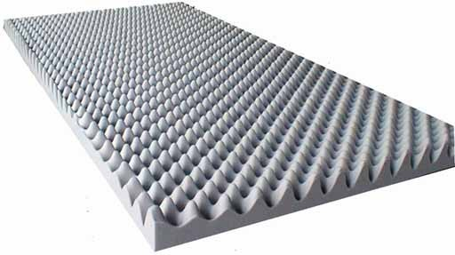 akustikschaumstoff als akustik noppenschaum platte. Black Bedroom Furniture Sets. Home Design Ideas
