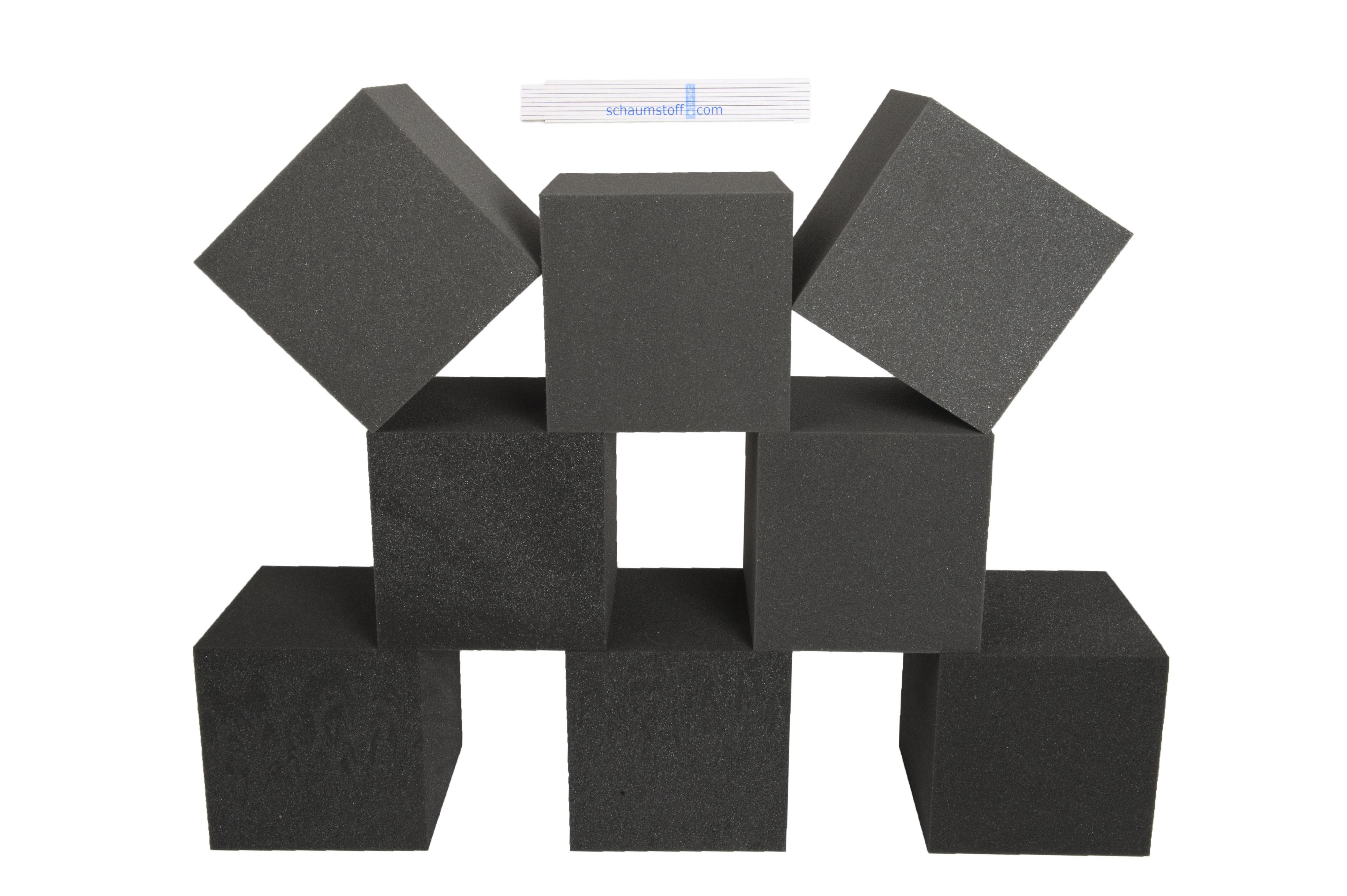 8 st ck schaumstoff w rfel 20x20x20cm spiel bausteine dekow rfel therapiehilfe. Black Bedroom Furniture Sets. Home Design Ideas