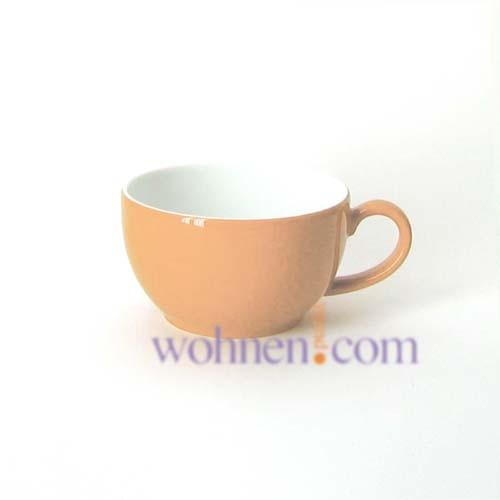 Cappuccino Tasse in der Farbe lachs